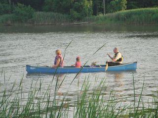 Canoeing in Cunninghill Cove-Gunpowder Falls State Park-Hammerman