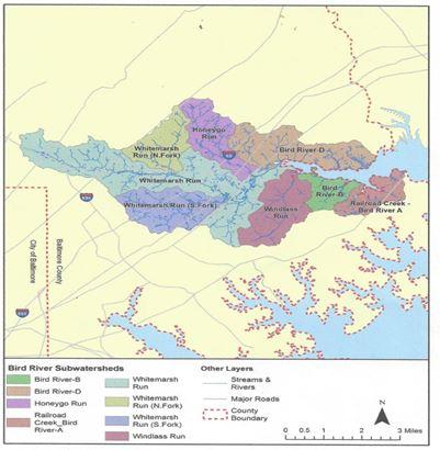 Bird river map