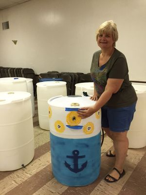 Connie Sample Rainbarrel